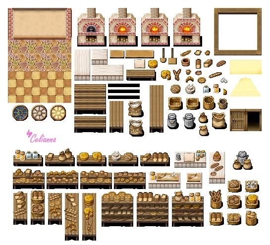 "Celianna's Parallax Tiles ""Bakery Tiles"""
