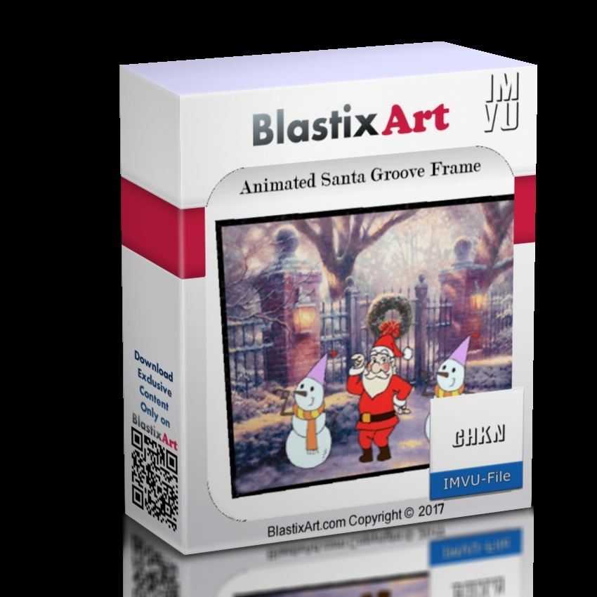 Animates  Santa Groove Frame