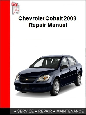 Chevrolet Cobalt 2009 Repair Manual