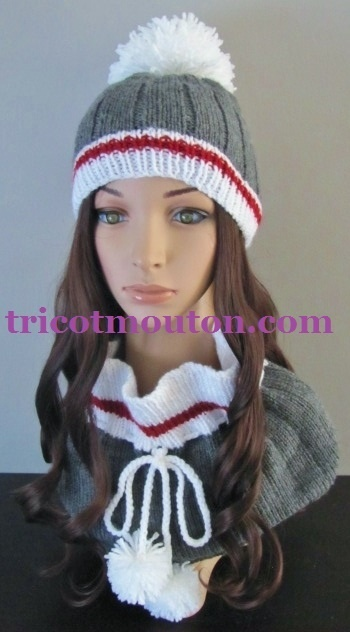 TFF-02  Tuque & Foulard - Collection du Pays