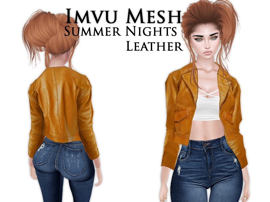 IMVU Mesh - Tops - Summer Nights Leather