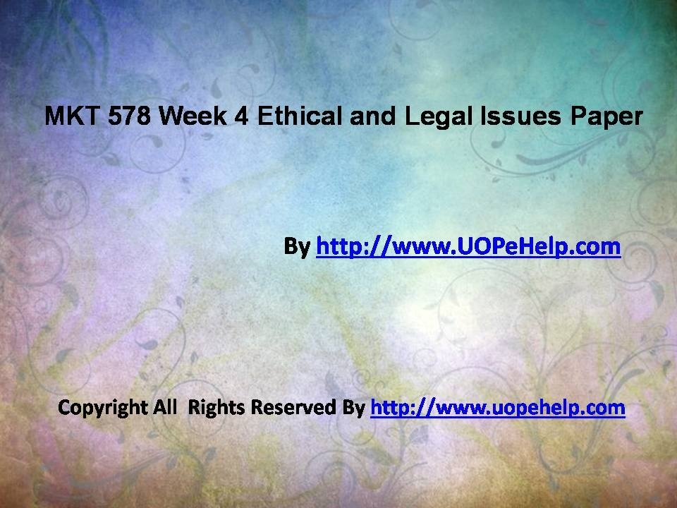 uop legal and ethical Entire course link eth 321 week 3 contract law and ethics case study purpose of assignment the purpose of t.