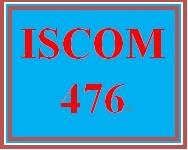 ISCOM 476 Week 5 eCommerce Process