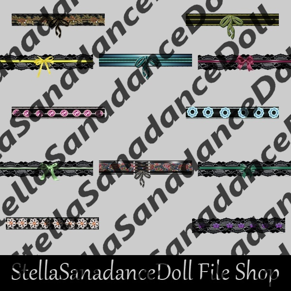 S176 India Belts, 145 Addons, NO RESELL