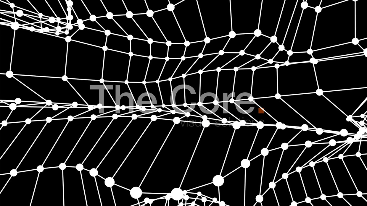 00062 WIRE GRID WAVING 6 by The Core