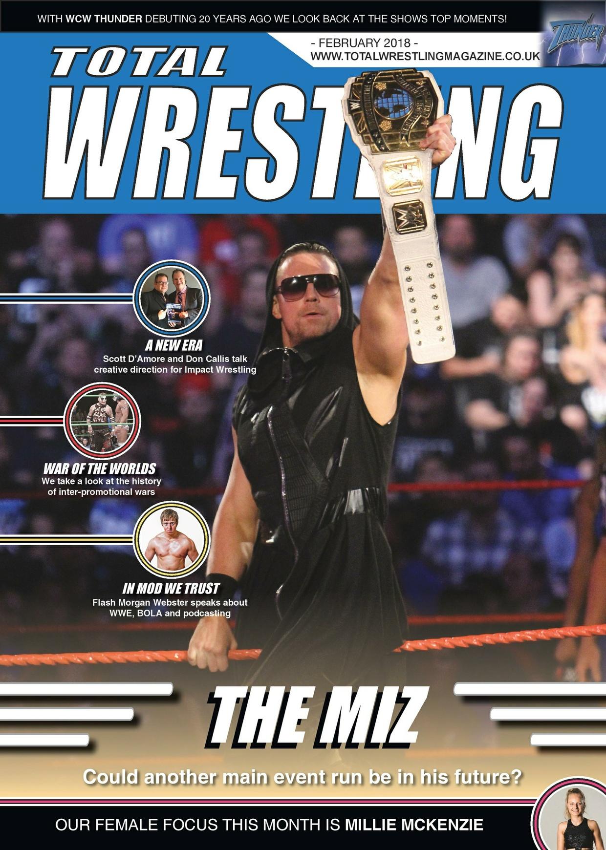 Total Wrestling Magazine February 2018