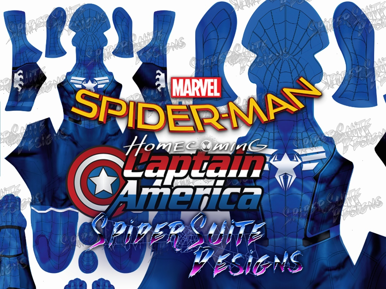 FREE Homecoming Civil War Spiderman 2017 Pattern