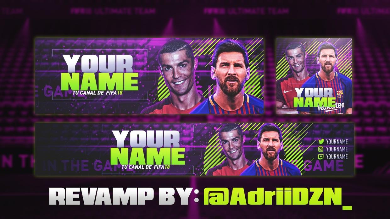 REVAMP FIFA 18 | By @AdriiDZN_