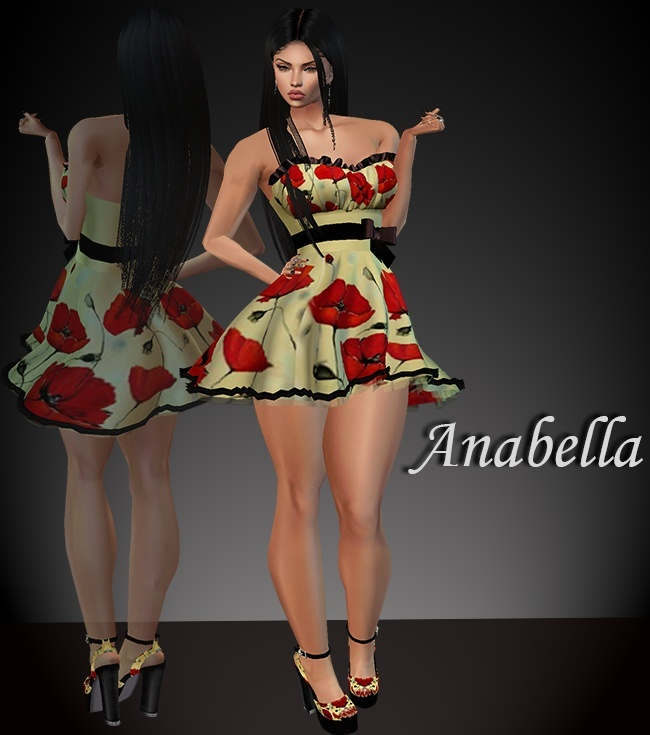 Anabella Dress & Shoes
