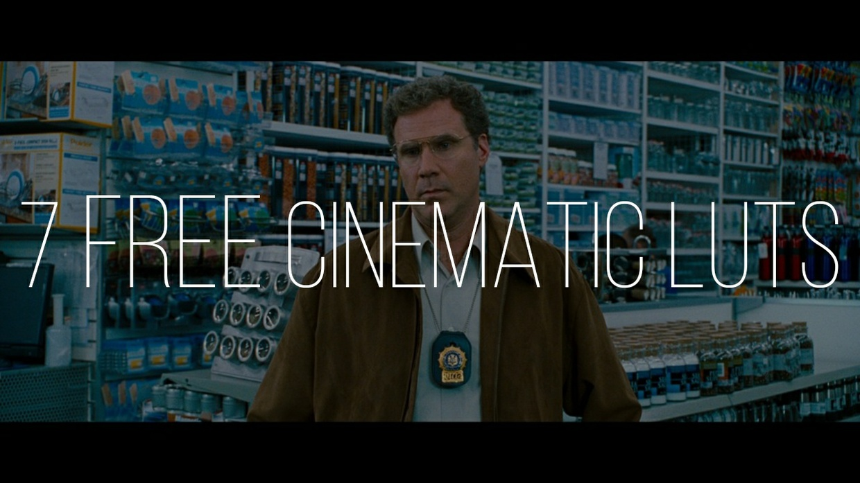 7 Cinematic LUTs for FREE