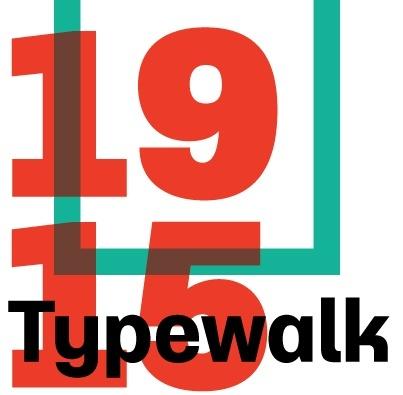 Typewalk 1915 + Typewalk Mono 1915
