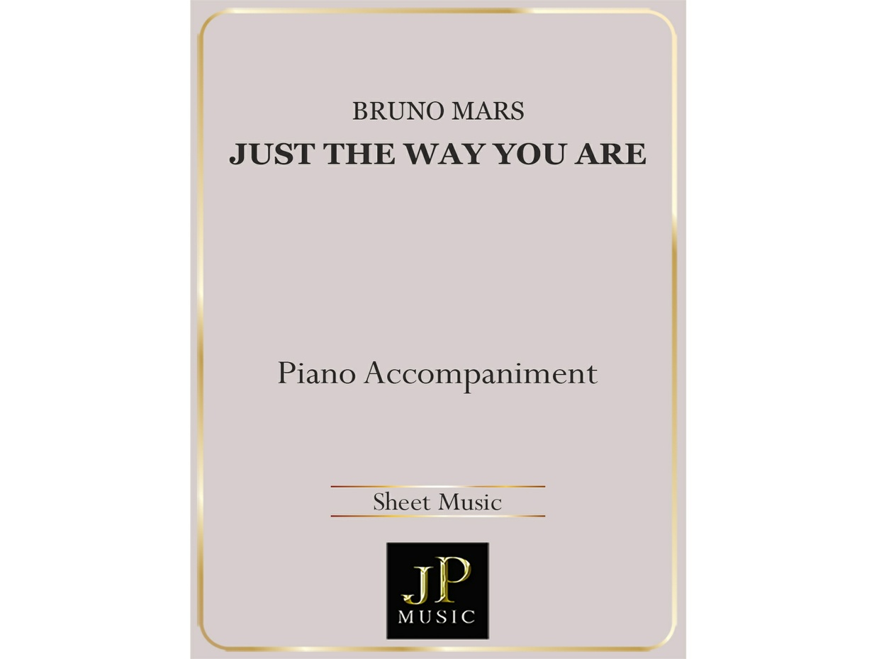 just the way you are piano guys sheet music pdf