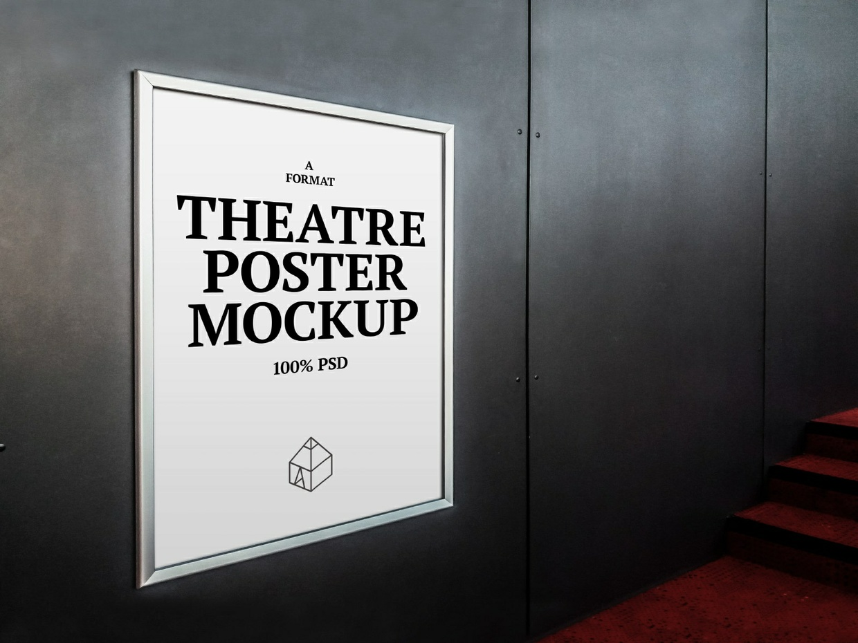 Free Theatre Poster Mock-Up