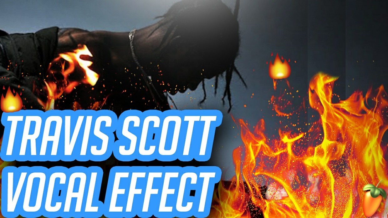 Travis Scott Recording Template