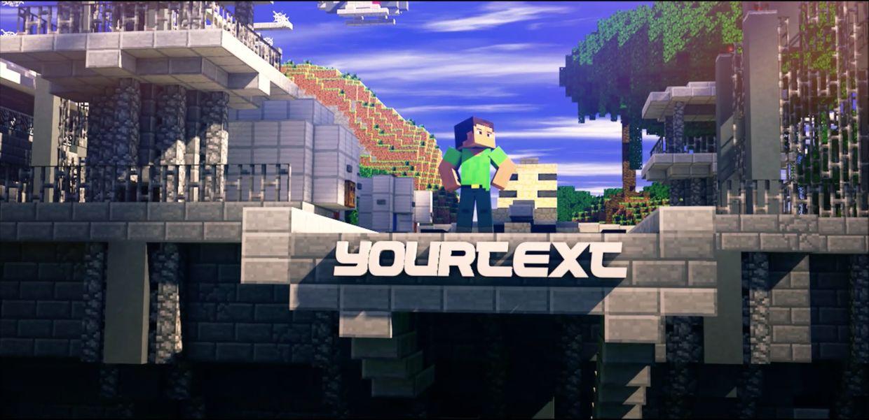 Epic Minecraft Hero Animated Template