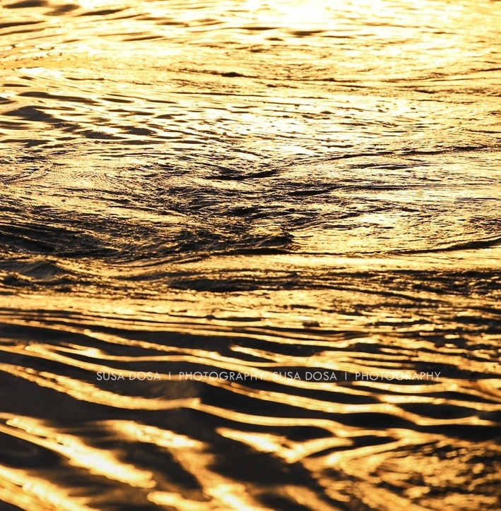 - Golden waves -