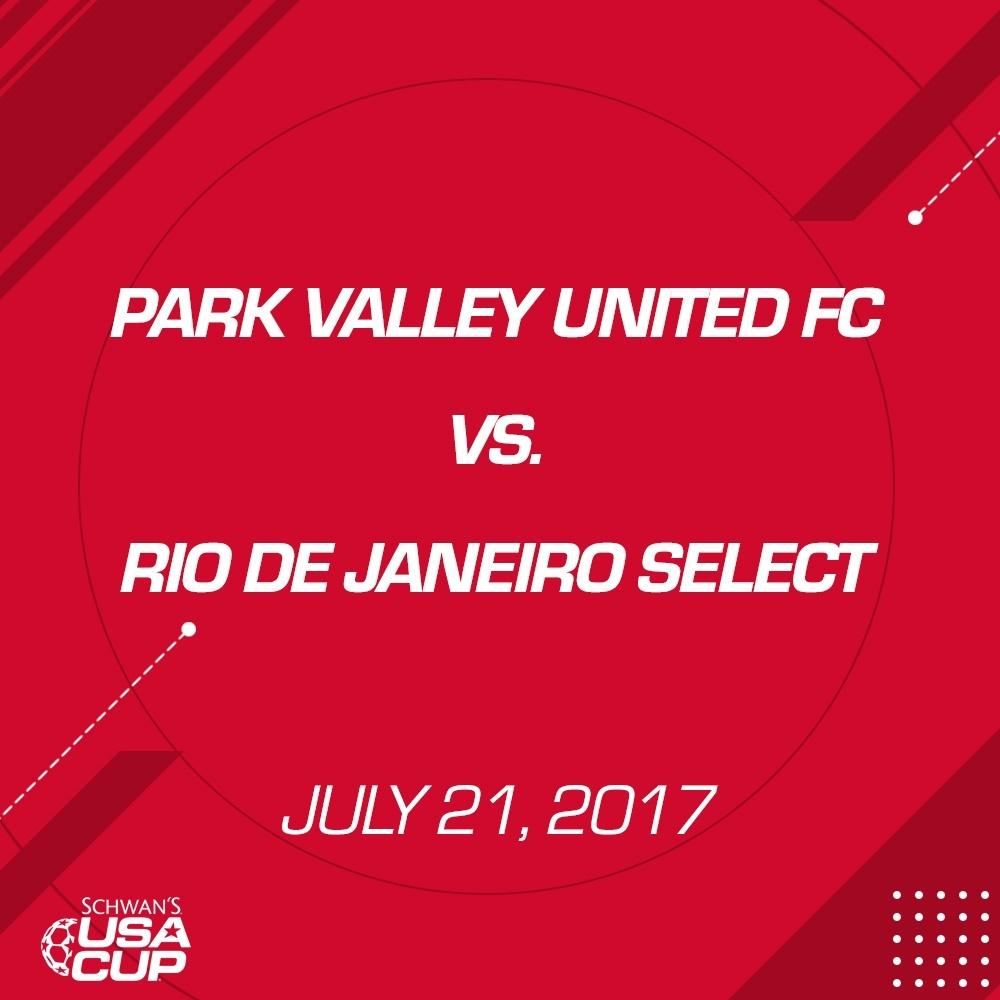 Boys U13 Silver - July 21, 2017 - Park Valley United FC vs Rio De Janeiro Select