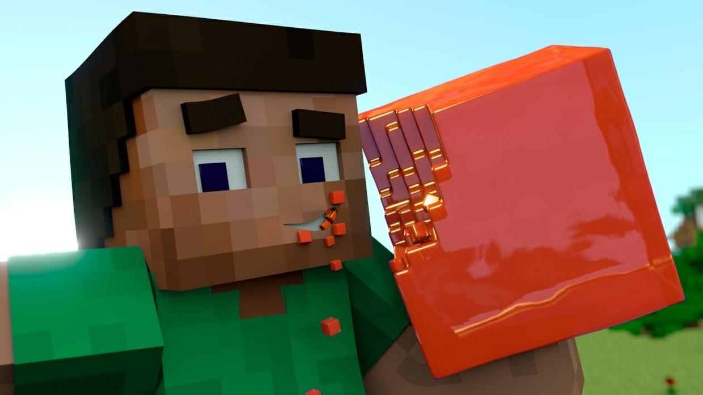 Minecraft animated outro