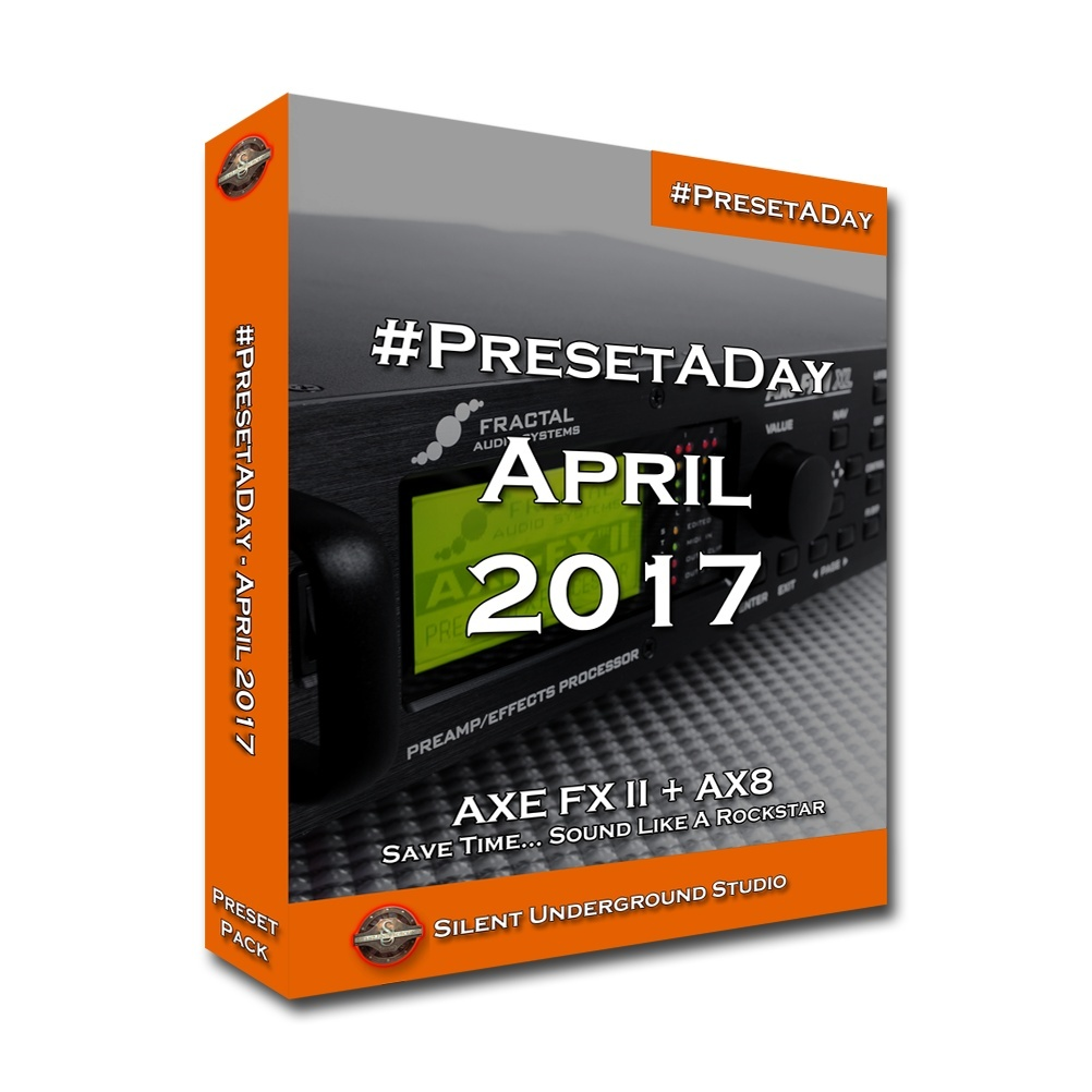 #PresetADay - April 2017 (FAS)