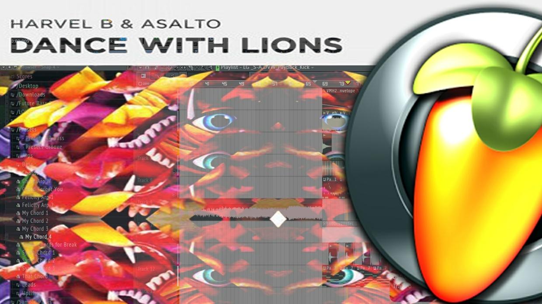 Harvel B & Asalto - Dance With Lions (REMAKE FL STUDIO