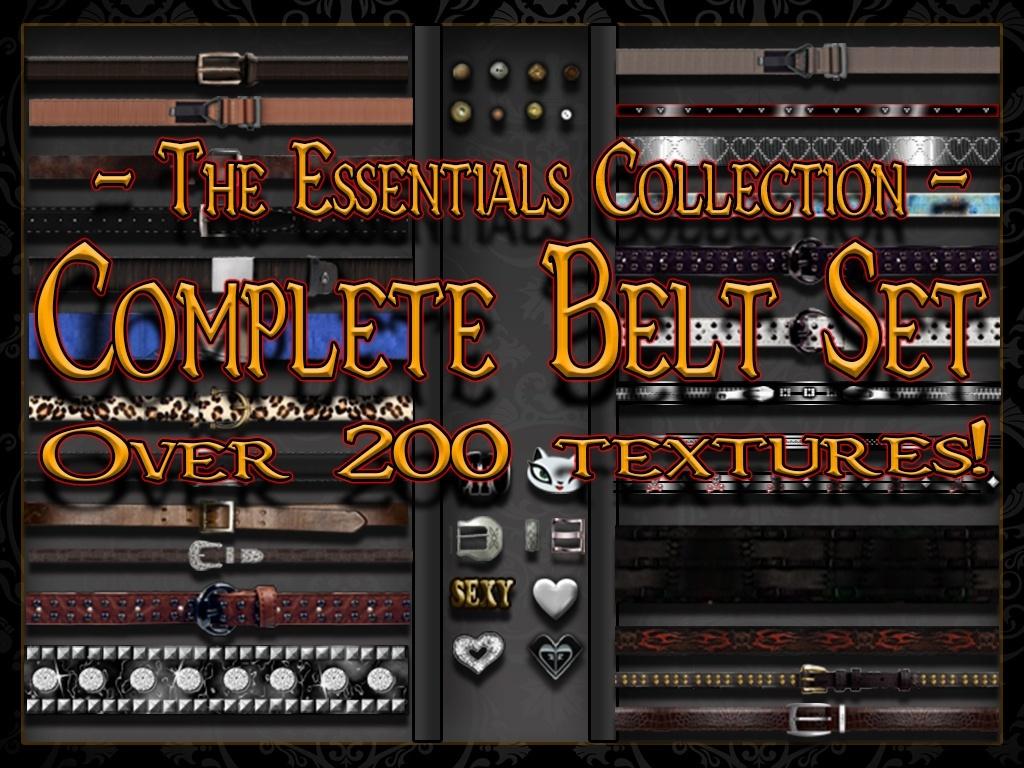 Complete Set - Belt Mega Bundle