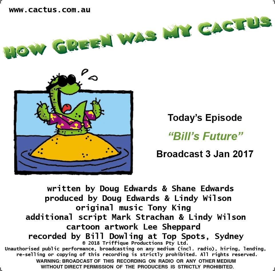 BILL'S FUTURE (3.1.18)
