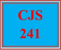 CJS 241 Week 3 Police Personnel and the Community Paper