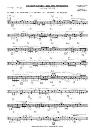 BAJO / Joe Pass y Wes Montgomery - Solos sobre Stella by Starlight