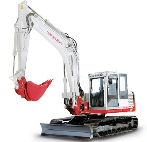 Takeuchi TB1140 Hydraulic Excavator Service Repair Workshop Manual Download(S/N:51400007 & Above)
