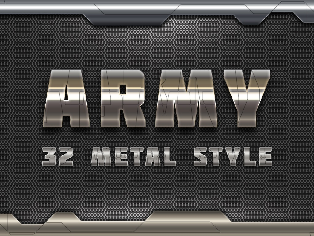 32 Metal Solid Style