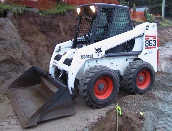 Bobcat 863, 863 High Flow Skid Steer Loader Service Repair Workshop Manual DOWNLOAD