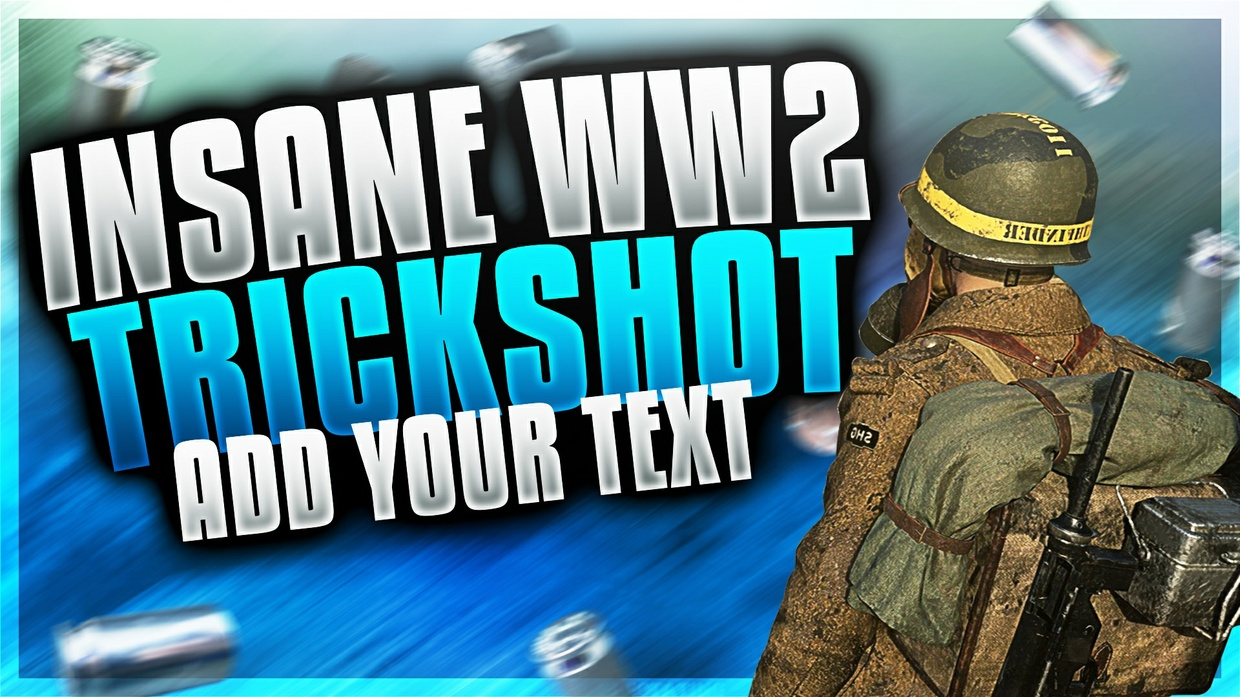 WW2 Soldier Thumbnail Template Pack