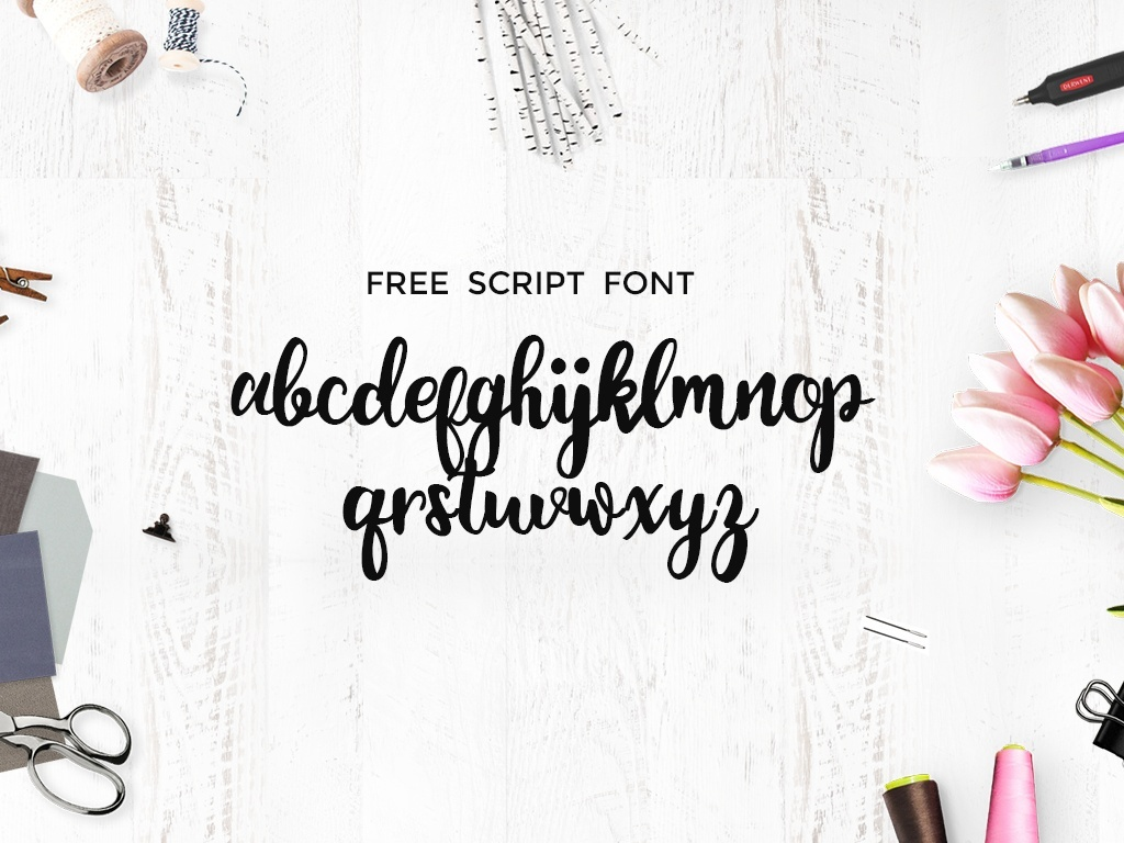 Monogram Free Script Font
