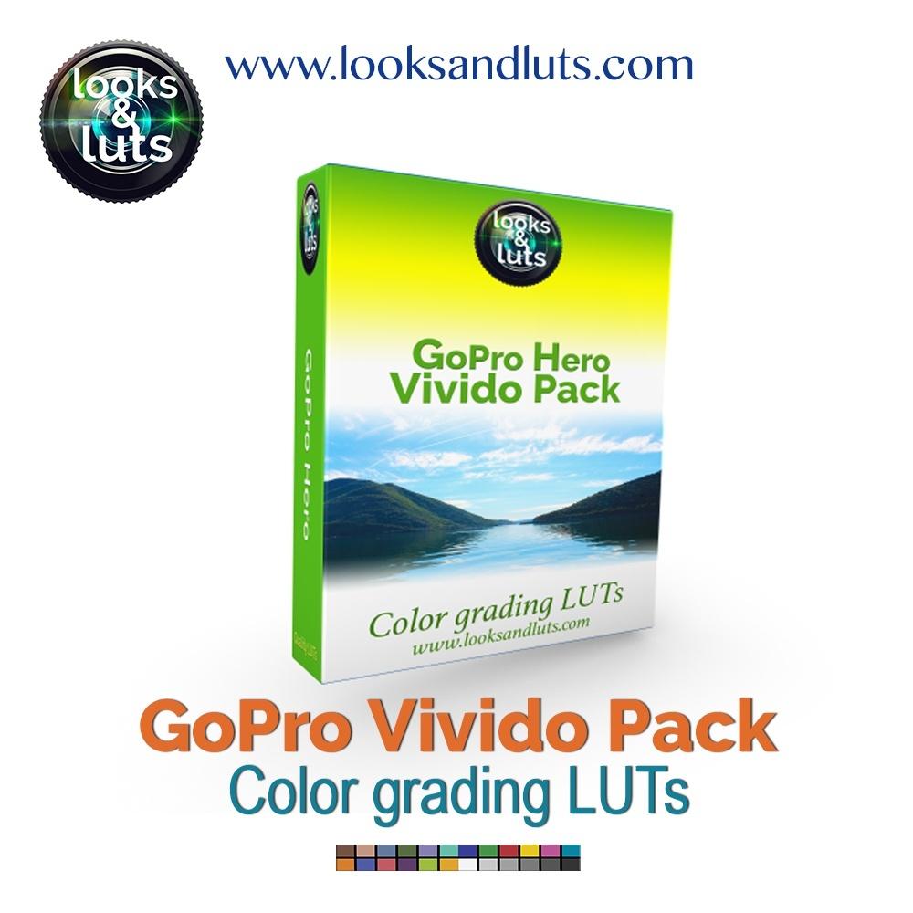 GoPro Hero Vivido Pack 25 LUTs