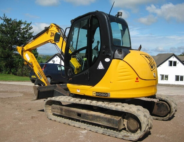 JCB 8080 Midi Excavator Service Repair Workshop Manual DOWNLOAD