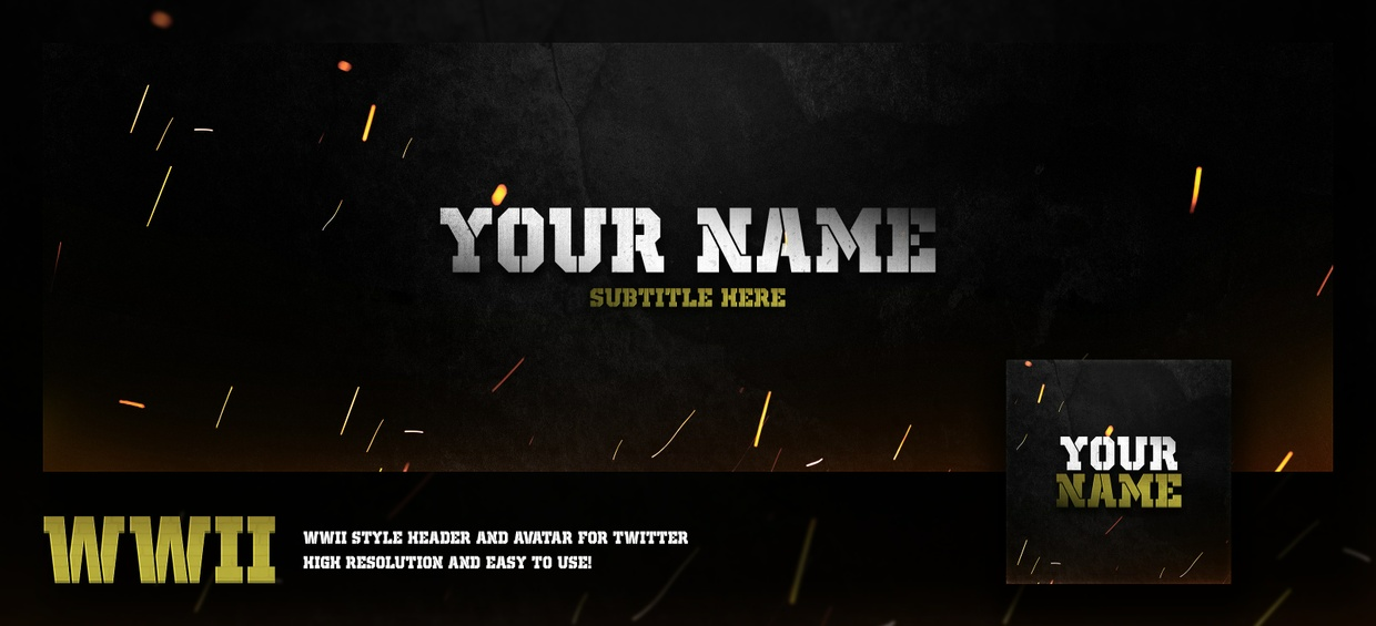 WWII Themed Header and Revamp