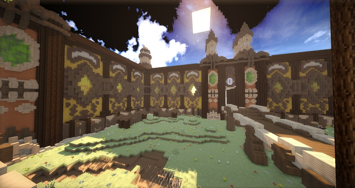 Spawn PvP/Faction style Fantaisie/Medieval