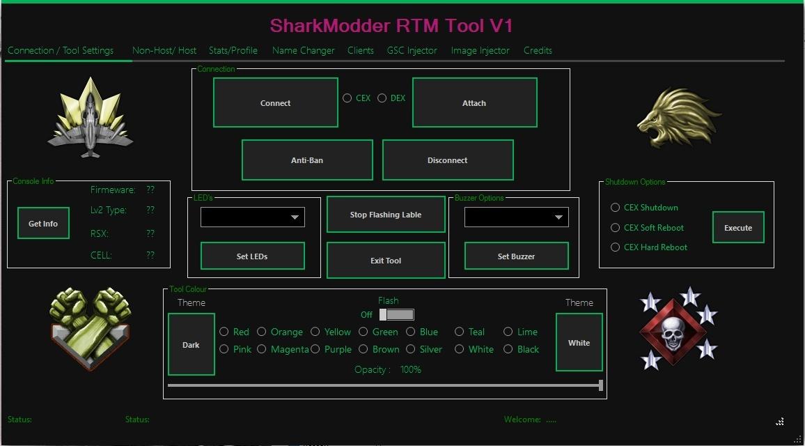 SharkModder RTM Tool V1