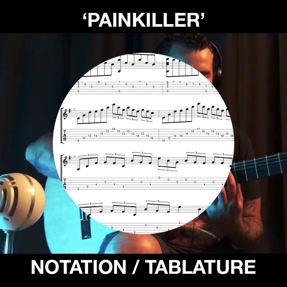 Painkiller (Judas Priest) - Ben Woods - Solo Flamenco Guitar Tabs/Notation