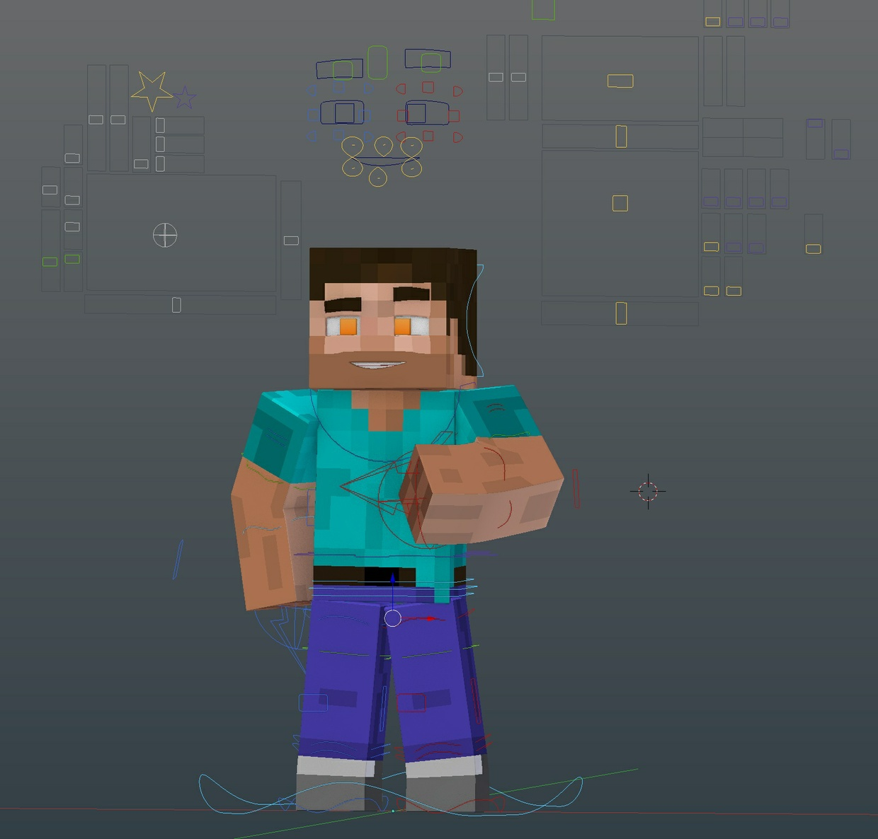 (Blender) LimetteDesigns Rig V3
