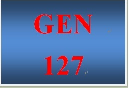 GEN 127 Entire Course