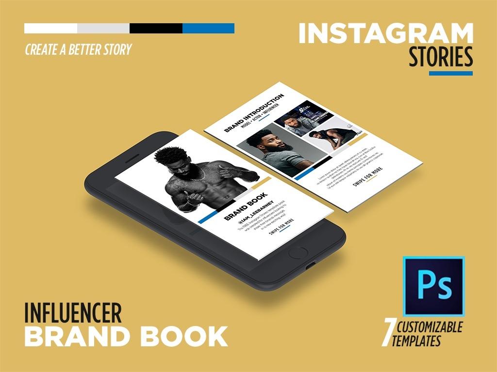 INSTAGRAM STORIES - BRAND BOOK by @ParisPullen