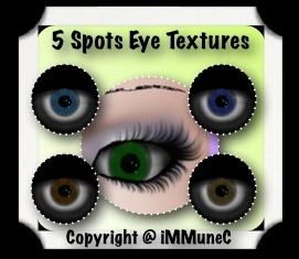 5 Spots Eye Textures