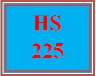 HS 225 Week 4 Case Management Workbook, Assignment 4