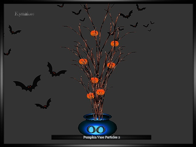 Pumpkin Vase Particles 2