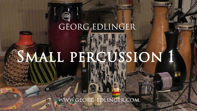 Small Percussion 1 - Cabasa