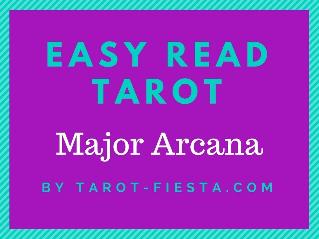 Easy Read Tarot - Major Arcana
