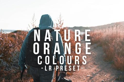 Nature Orange Colours - Lightroom Preset