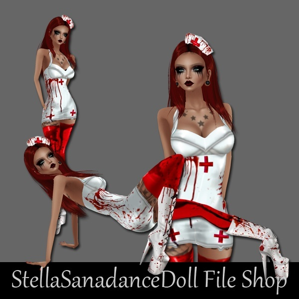 S155 Bloody Nurse, NO RESELL