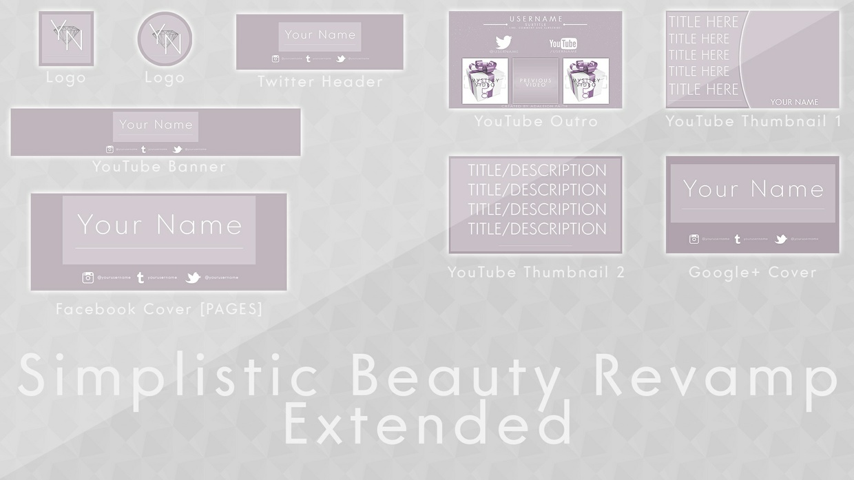 Simplistic Beauty Rebrand Template [EXTENDED]